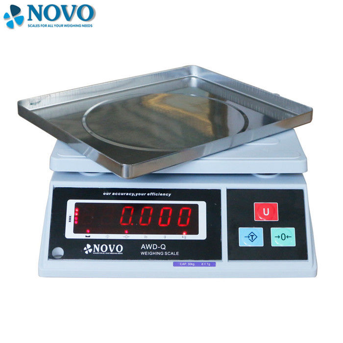 OEM Portable Electronic Scale , Household Weighing Machine SUS Pan